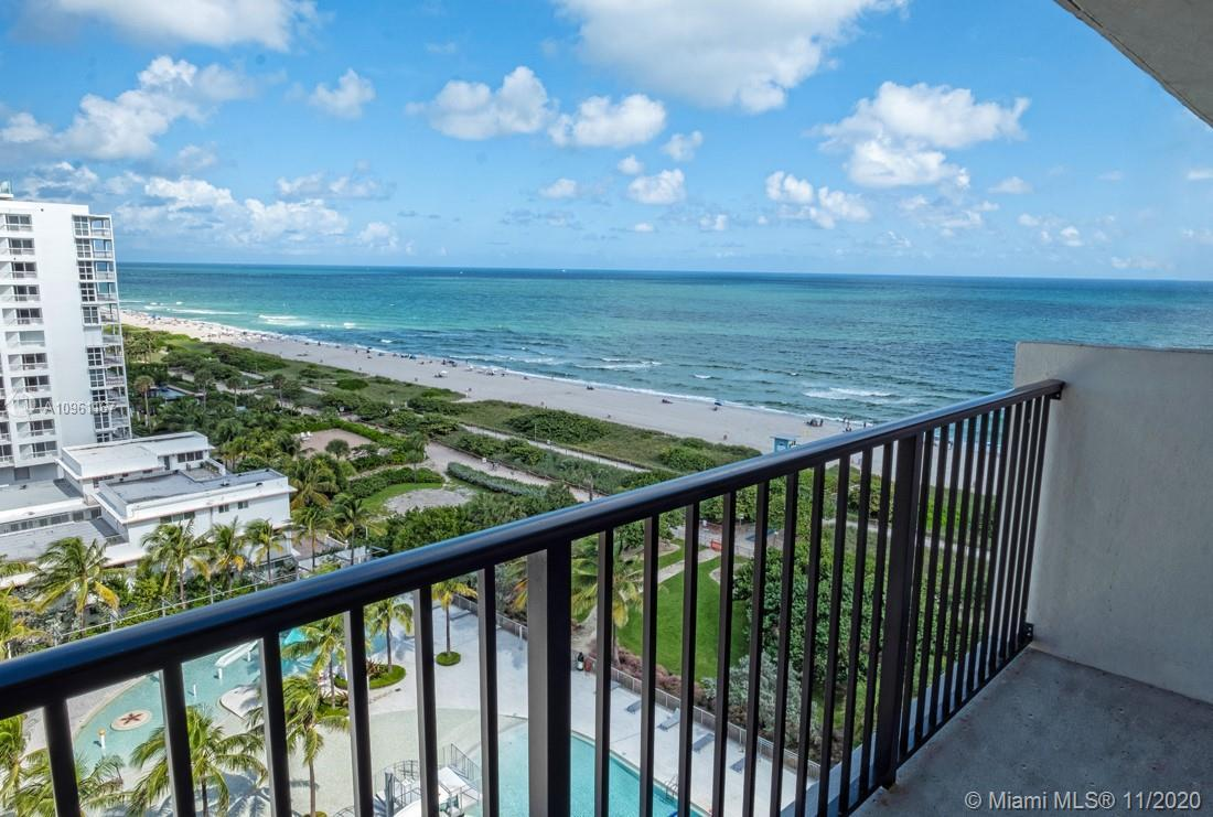 This unit, Apt 1107 is located on the pent house level on the top floor of the Manatee.  This ocean