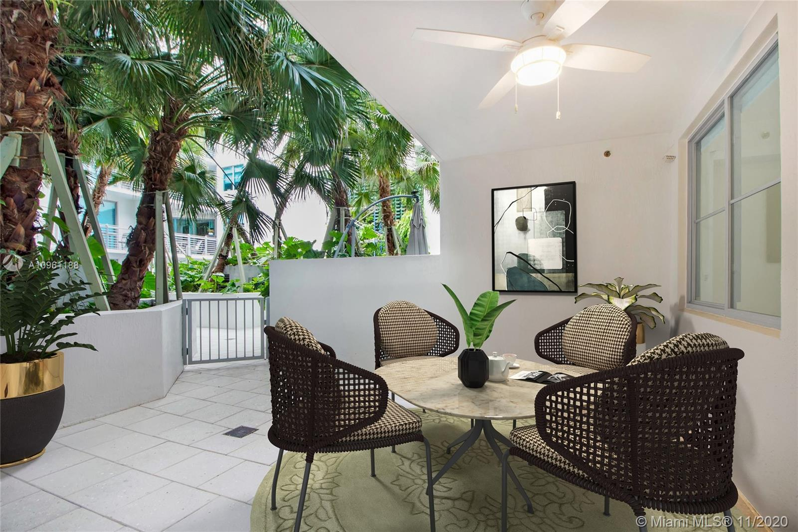 Located in the coveted South of Fifth neighborhood, this spacious 2 Bed/2.5 Bath+DEN boasts 1,500 Sq