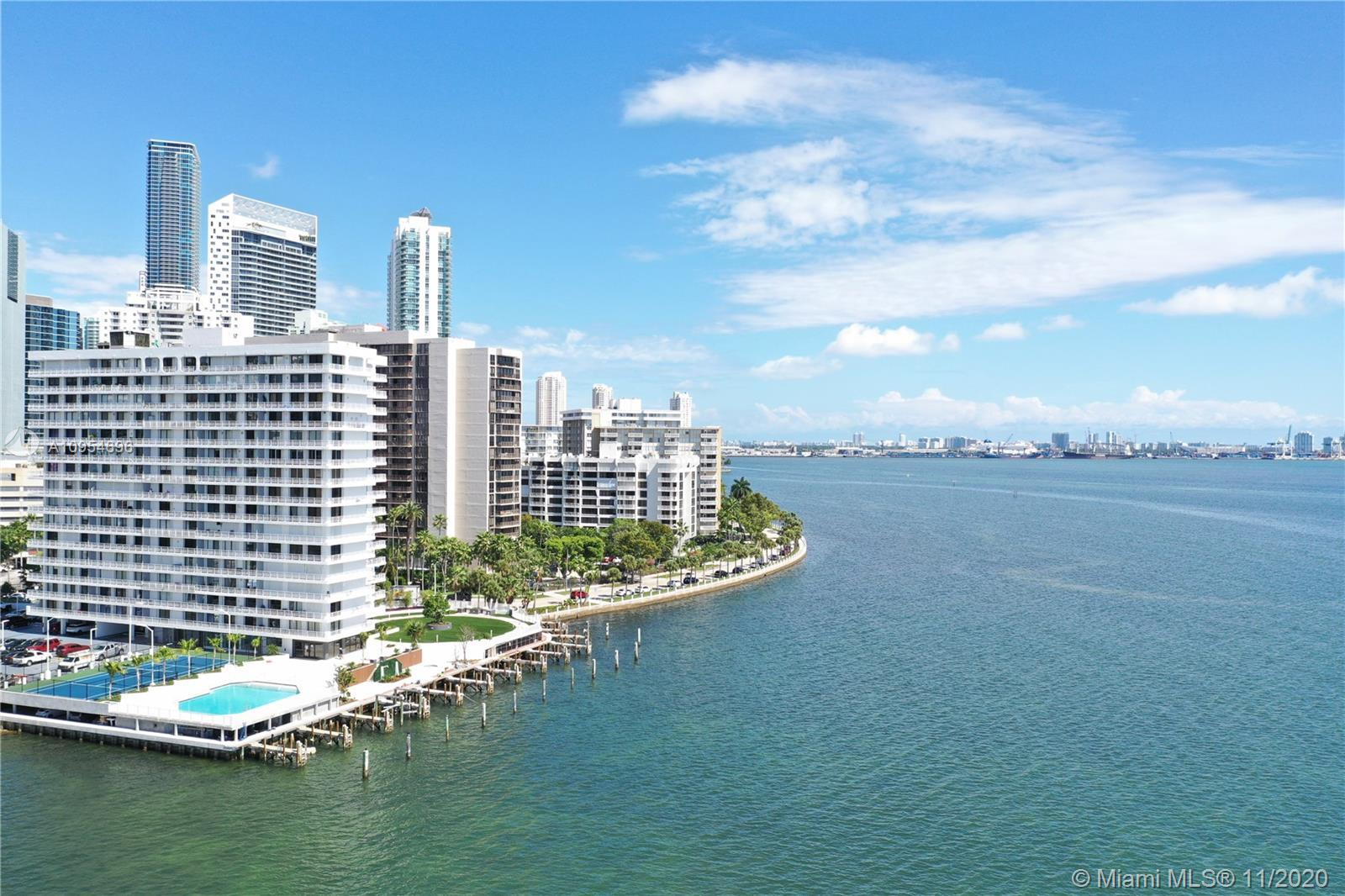 "Rarely available. Best line of building ""C"" Stunning unobstructed views from every room, Bay, Key Bi"
