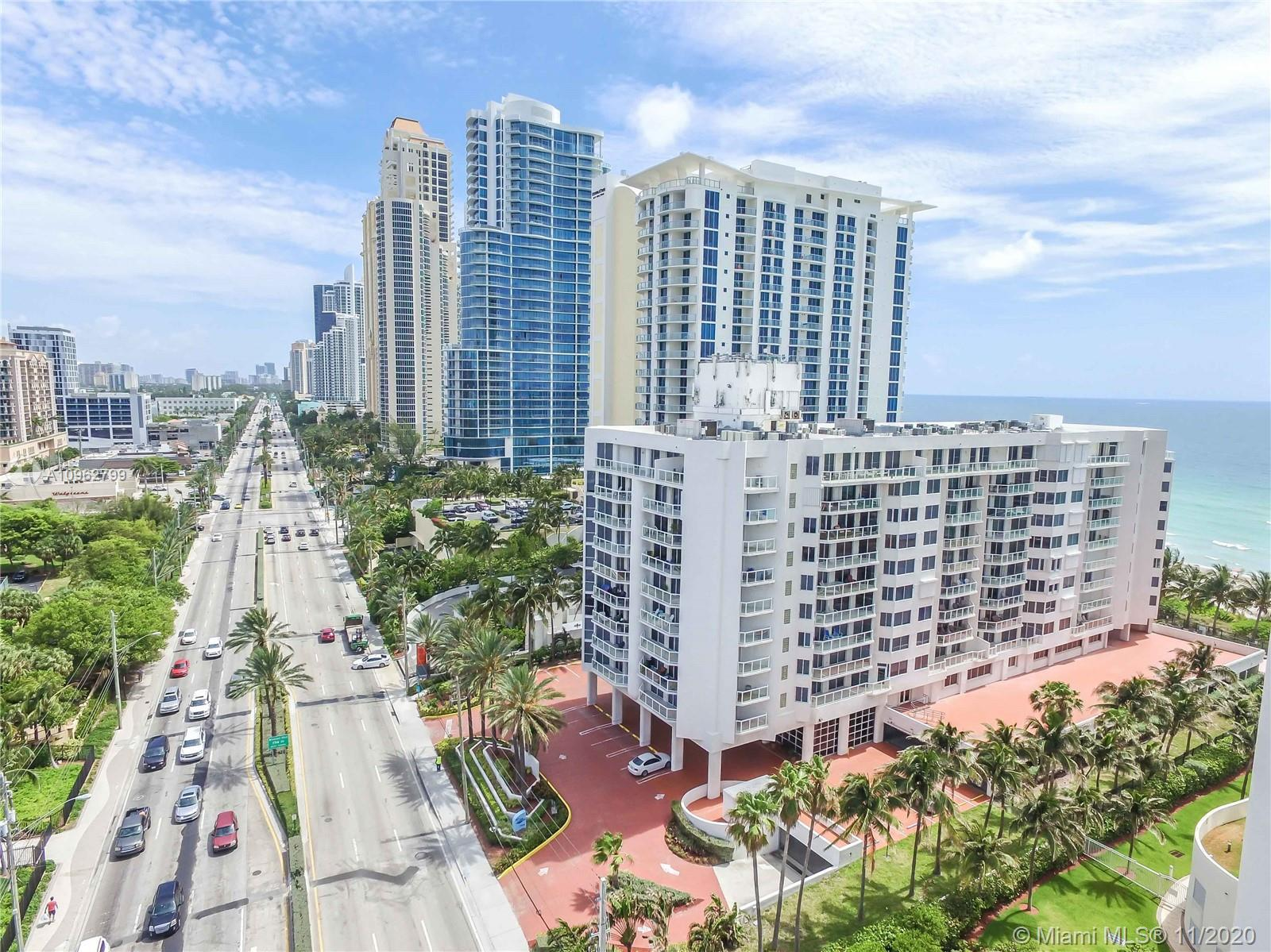 2/2 APARTMENT IN THE MIDDLE OF SUNNY ISLES BEACH WITH OCEAN AND CITY VIEW FACING SOUTH. DIRECT ACCE
