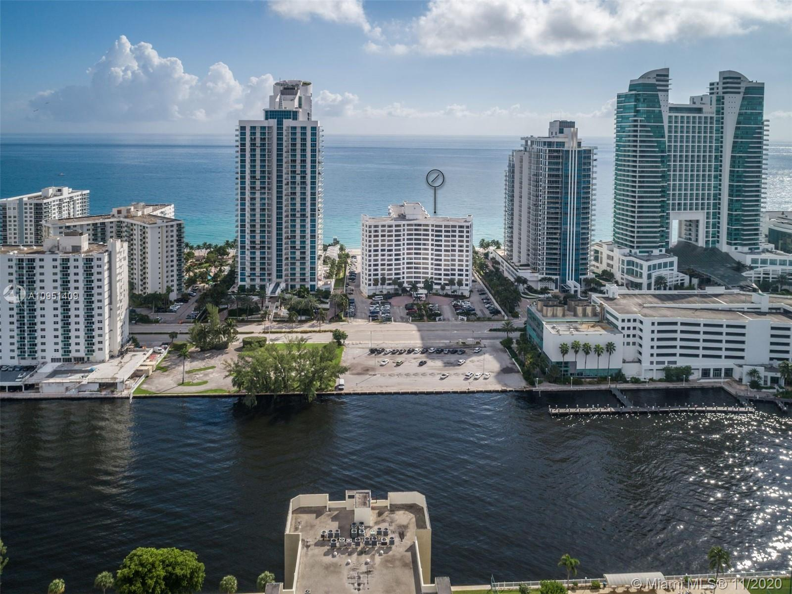 Take in the unobstructed Intracoastal views from this updated 2 bed/2 bath condo along Hollywood Bea