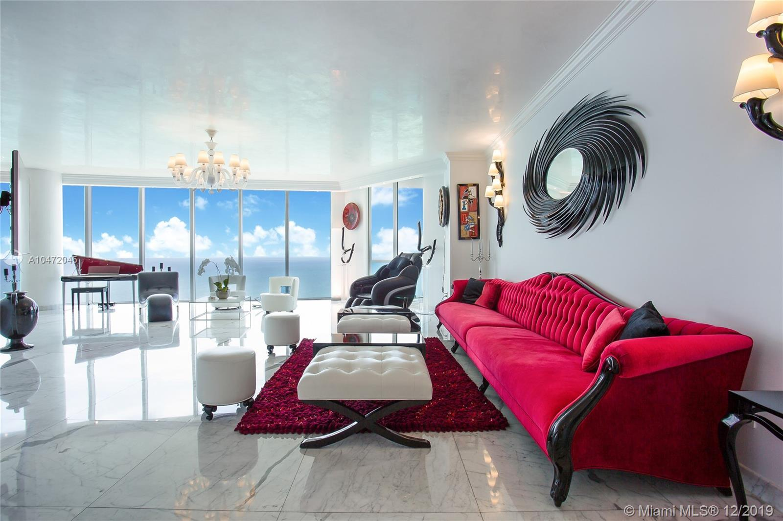 Spectacular Turn Key SKY VILLA! Ultra Modern/Fully Furnished unit! Panoramic Direct SE Ocean Views &