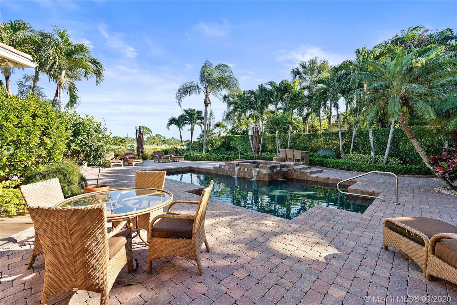 Enjoy countless hours enjoying the endless golf course view of this spectacular courtyard home. mome