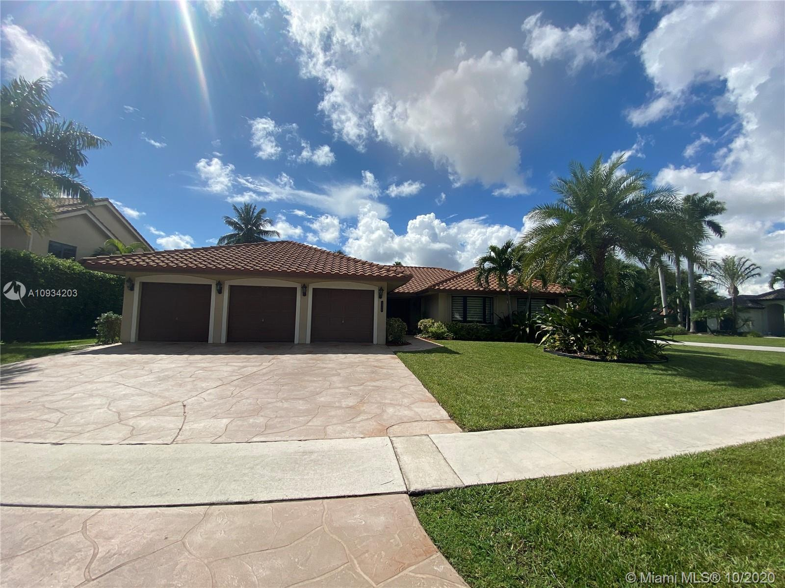 A MUST SEE, MOVE IN READY !!! Gorgeous updated home in 24 hour manned gated community. 5 bedrooms +