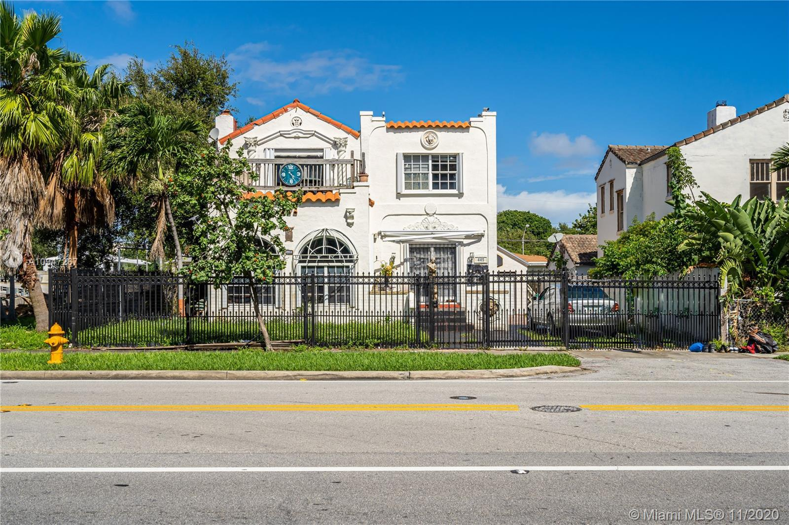 Portfolio of four prime properties only blocks away from Biscayne Blvd parcels for sale. The offerin