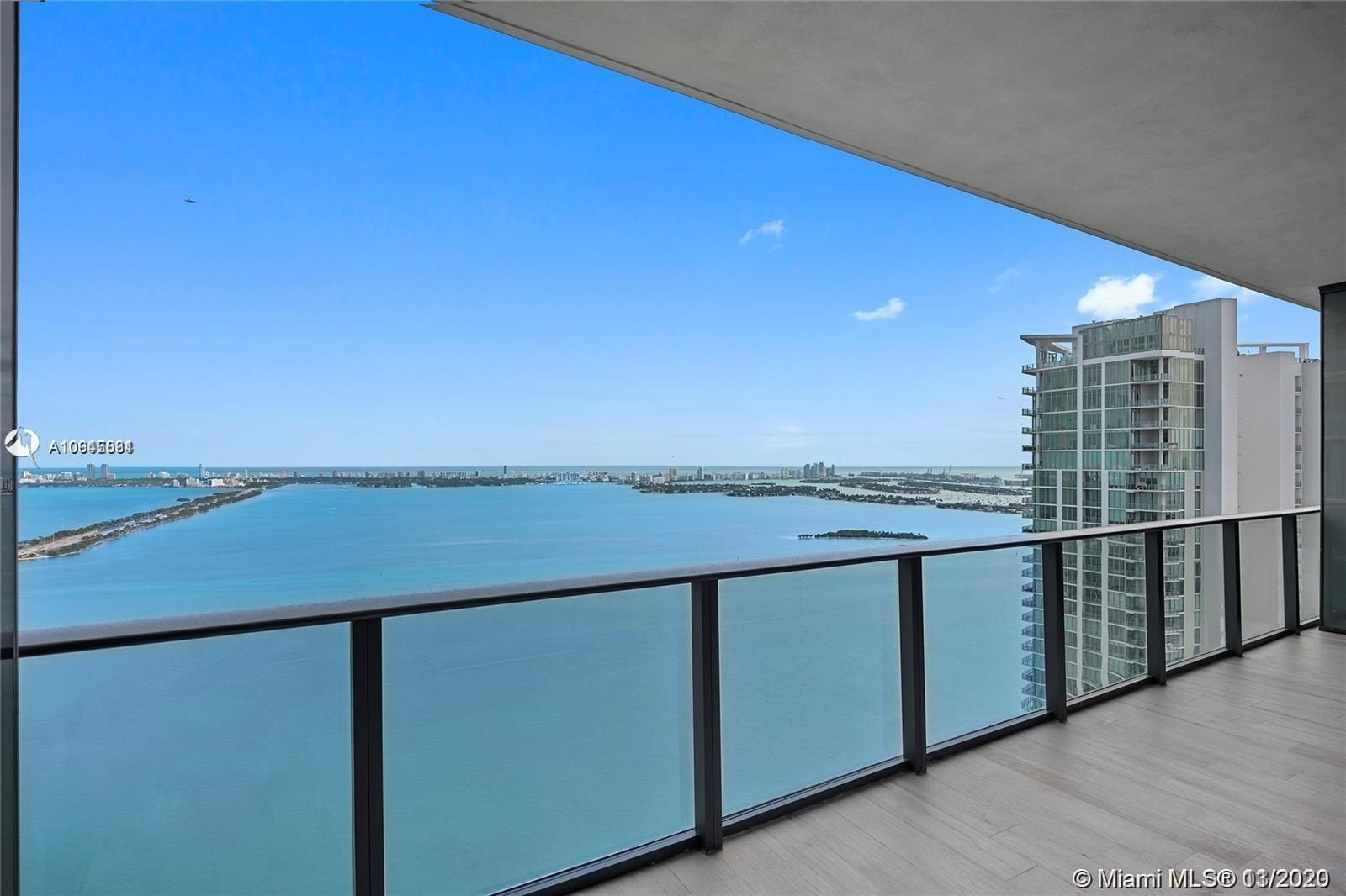 Amazing 2 Bedrooms plus DEN and 3 full Bathrooms unit with breathtaking bay views. This unit offers