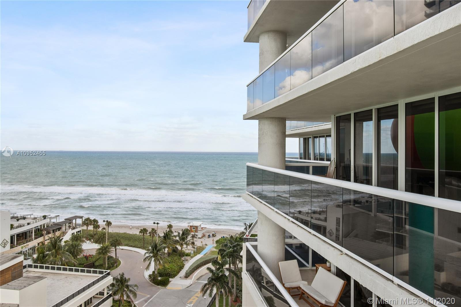 LUXURY Beach Condominium. Fully furnished Large and Bright 2 bed room and 2 full bath corner apartme