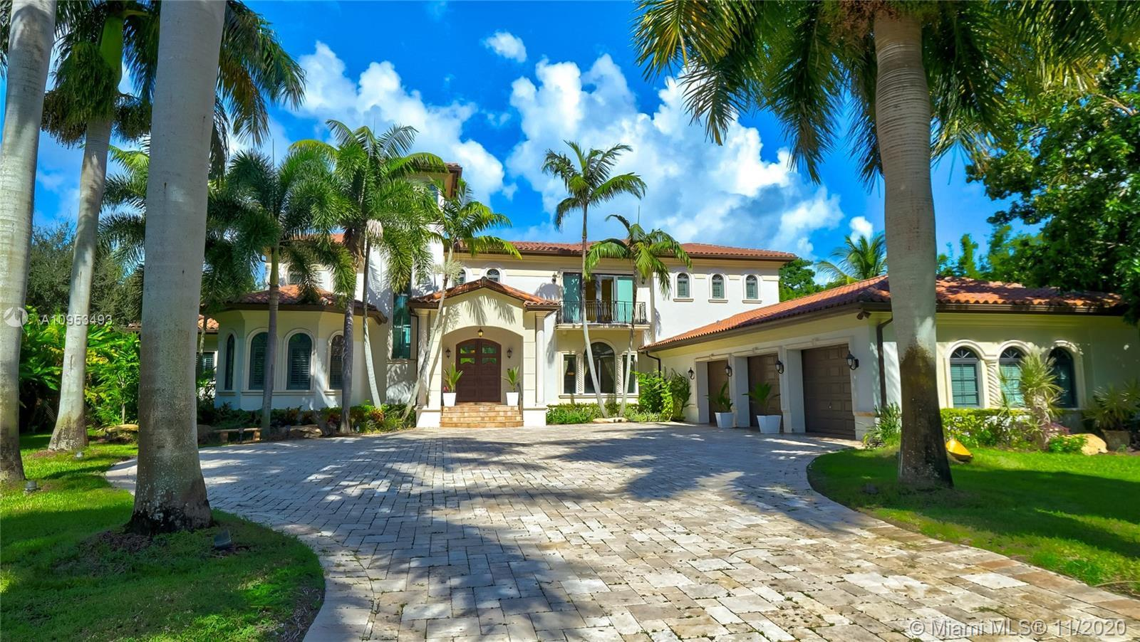 Luxury, elegance, and comfort are carried throughout this grand Mediterranean masterpiece. With a gr