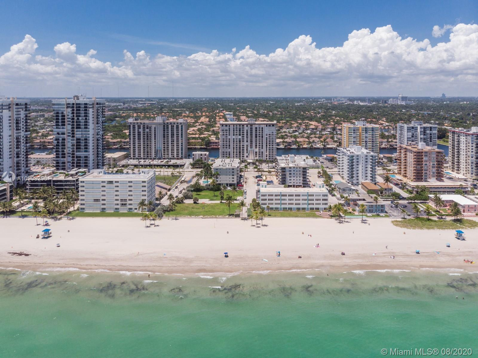 A must own 2 bedroom/2 bathroom residence with direct Ocean view, right across from the pristine Flo