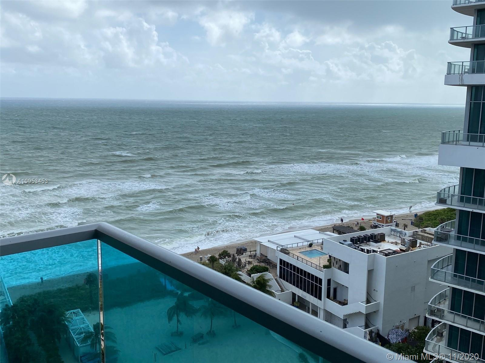 SPECTACULAR OCEAN VIEWS FROM THIS COZY 1 1 1/2 UNIT AT SIAN BUILDING, INVESTORS DREAMER AS BUILDING