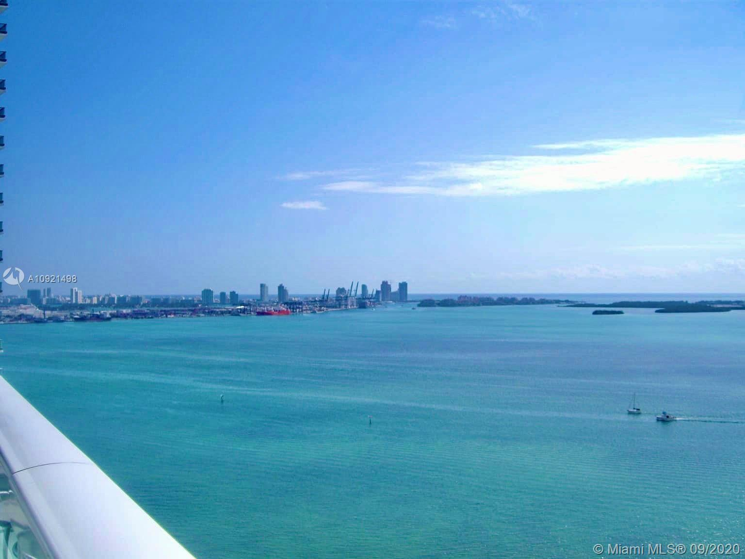 THE BEST VIEWS IN ALL OF MIAMI!!!! You can't beat this view! Stunning 2/2.5 at the Emerald building