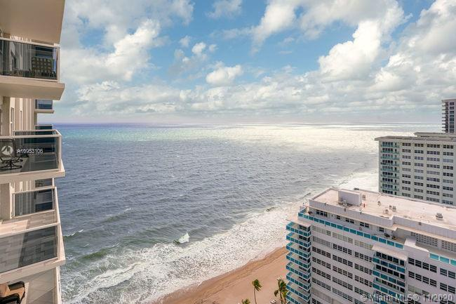 Rare find! Luxurious 2bed/2 w/soaring SE direct ocean views is a must see & easy to show! The combin