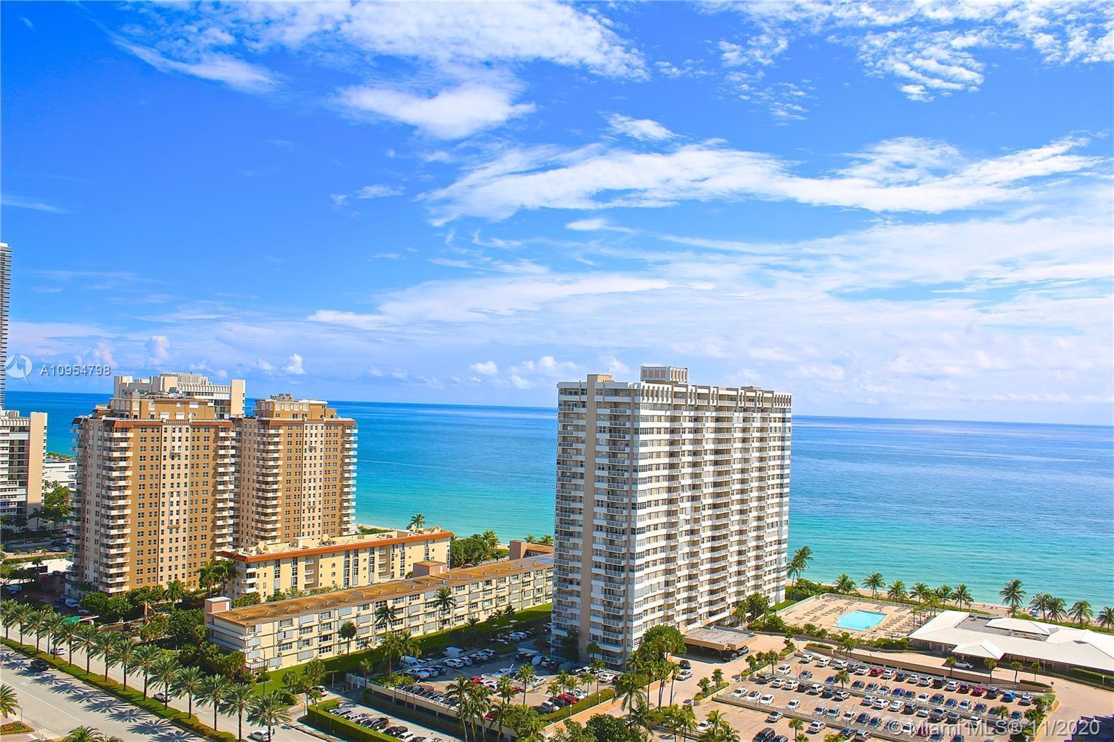 HEMISPHERES...180 Degree Panoramic Breathtaking Ocean, Intracoastal + City views.  Turn key move in