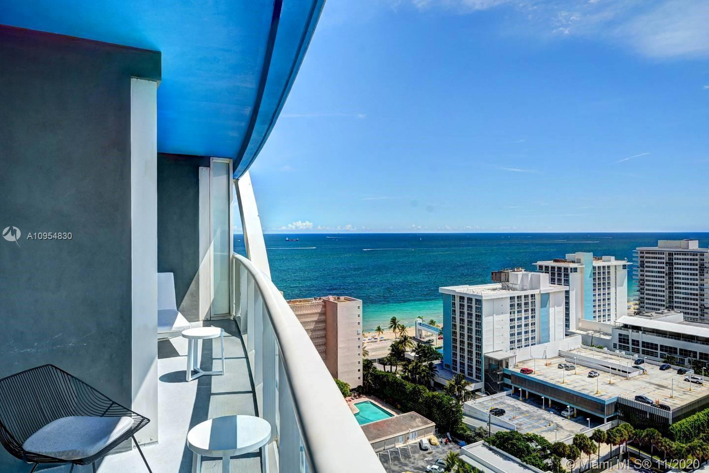 """W"""" Ft Lauderdale 1BR Furnished Unit SE Ocean & intracoastal Views. World Class """"W"""" Resort. This Luxu"""
