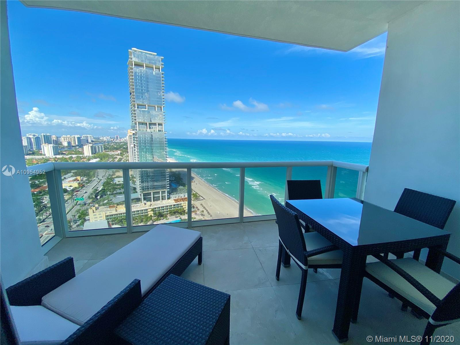 Magnificent sweeping ocean views from the second you walk through the door. 1 bed/1.5 bath fully fur