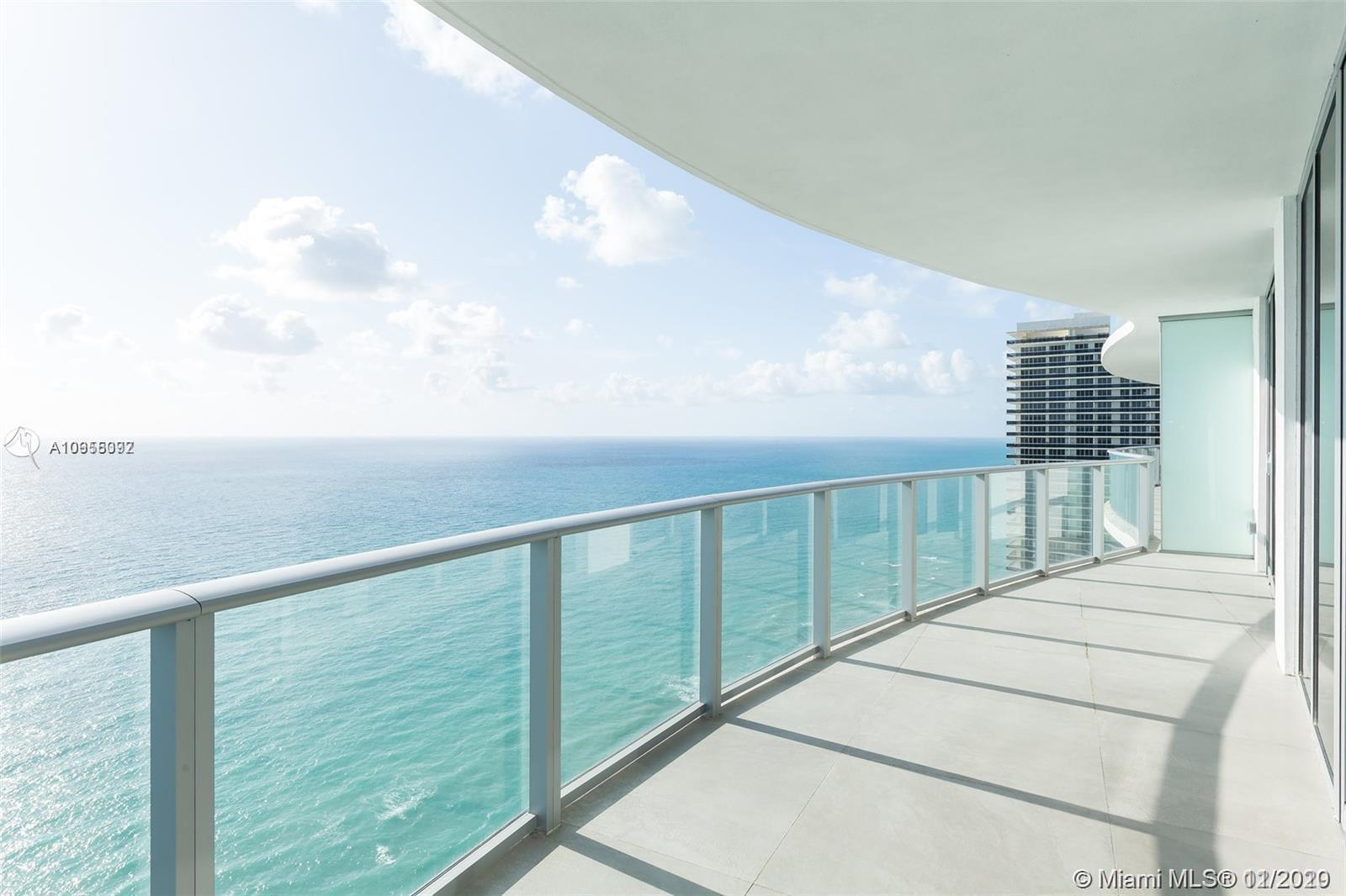 Direct Ocean views from this stunning 2 Bedroom 2 Baths residence corner unit at Hyde Resort & Resid