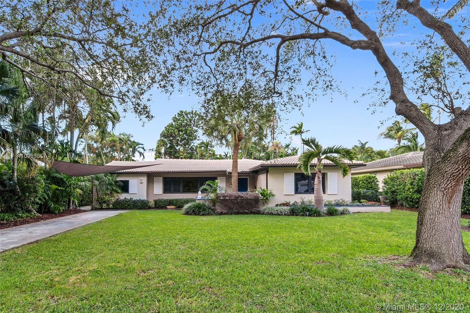 Beautiful spacious pool home in East Miami Shores. This 4-bedroom, 3 bath home has been impeccably m