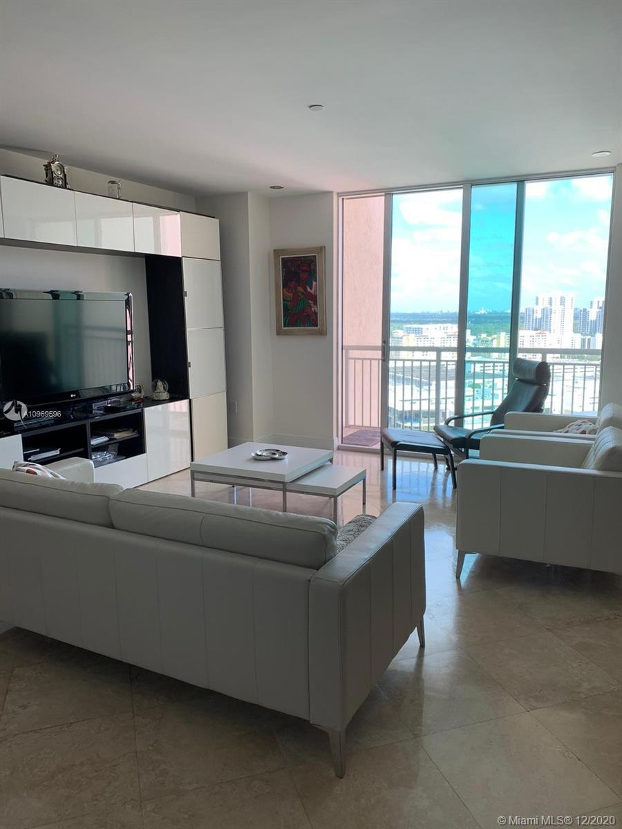 Remarkable skyline view from this 21st unit. 1,350 Sq.Ft of bright and spacious area. 2 bedrooms plu
