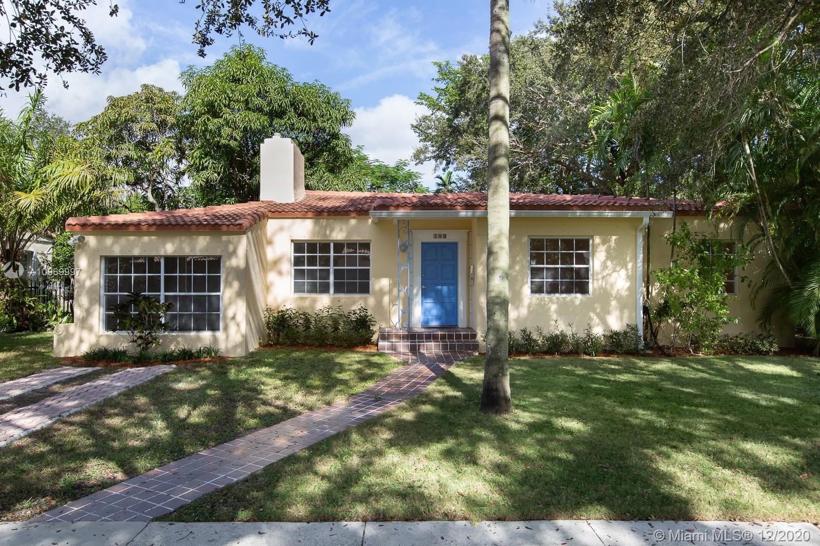 This is the type of charmer Miami Shores is famous for. Three Bedrooms, two baths, plus bonus room o