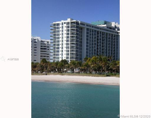 Gorgeous oceanfront condo in Bal Harbour, 2 bedroom 2 bath. Brand new kitchen, stainless steel appli