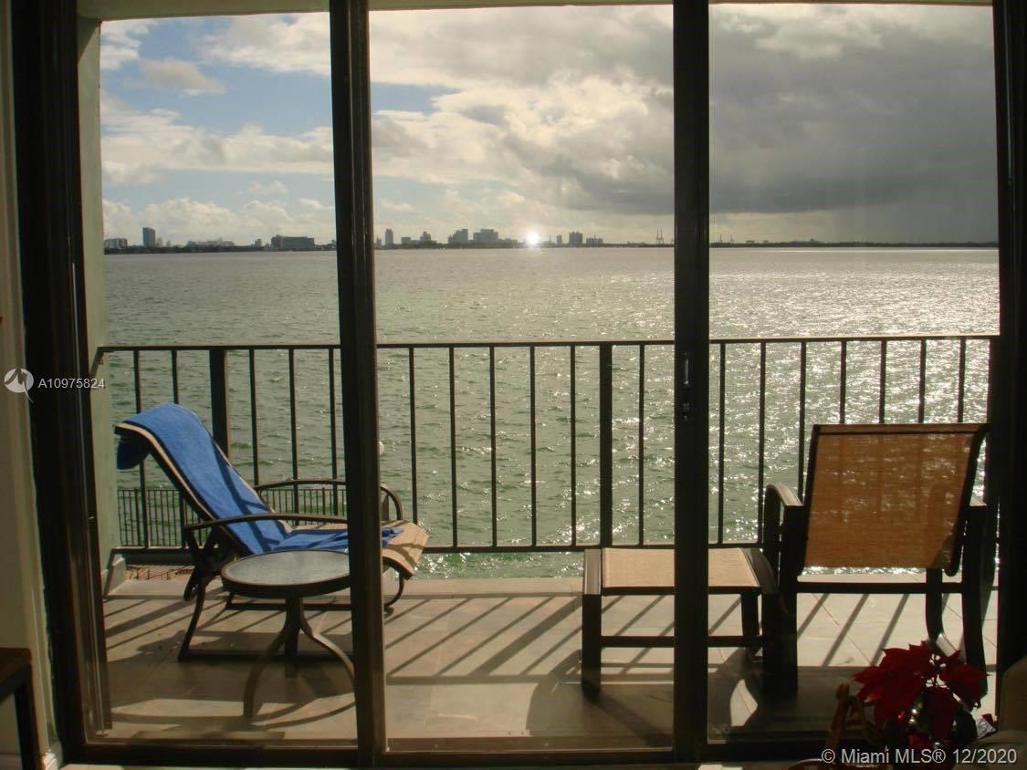 Absolute GEM on the water, directly on Biscayne Bay in Charming North Bay Village.  Close to Miami B