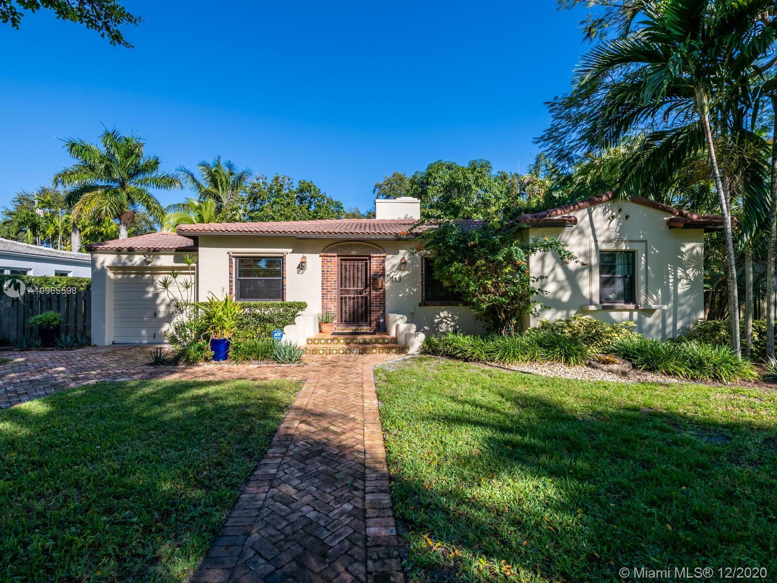 """Warm & welcoming """"Classic Miami Shores Charmer""""! What everyone is looking for....a place to call 'ho"""