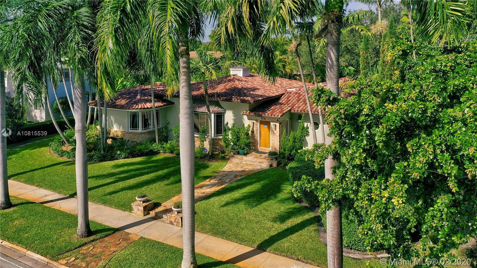 Spectacular 4 bed/4 bath home in prime Miami Shores location. Sitting on 1/3