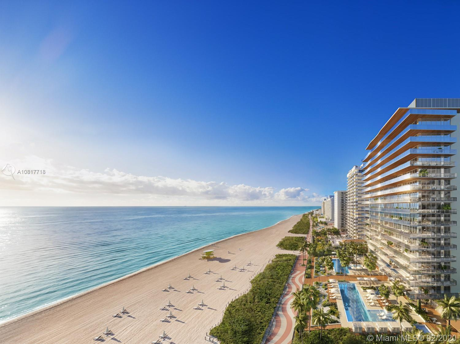 A haven for quality time and tranquility, 57 Ocean is comprised of 71 oceanfront residences that sha