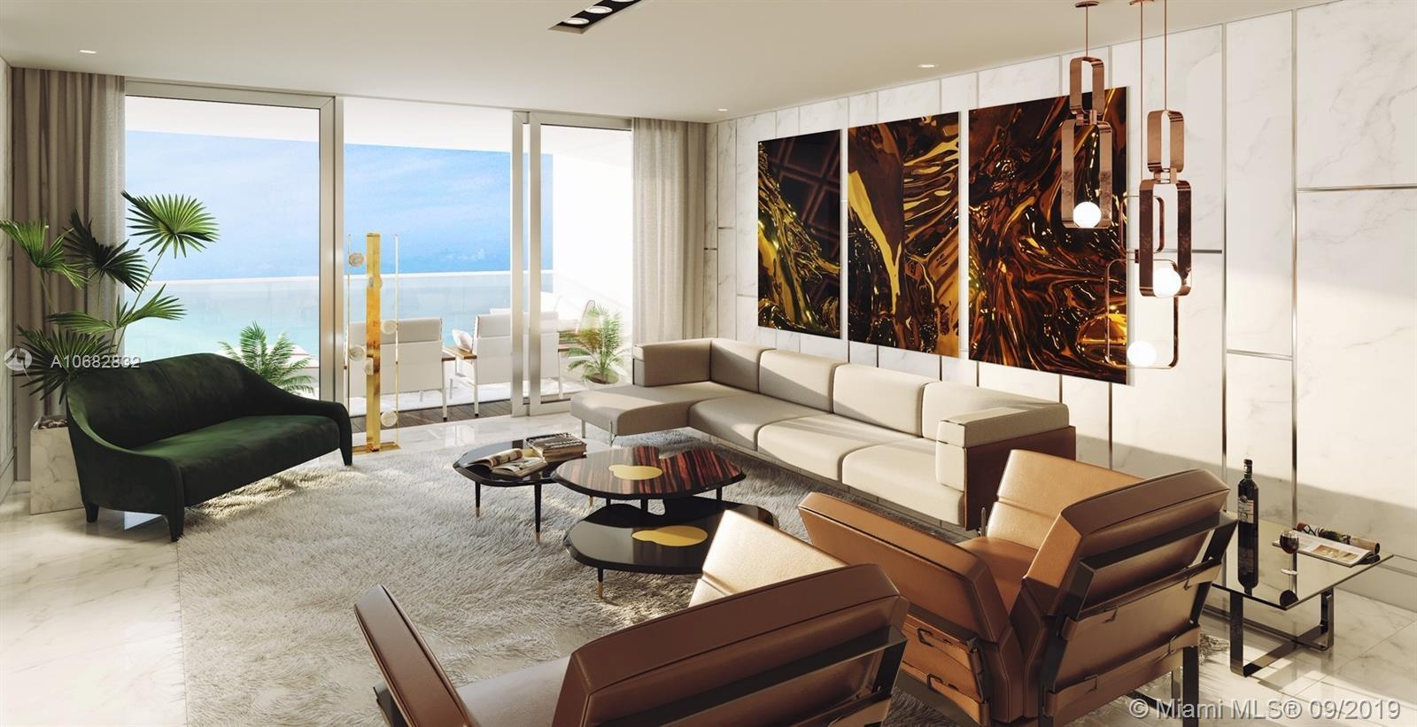 Pristine unit at the exclusive Fendi Chateau Building with only 56 residences.Residence 1004 feature