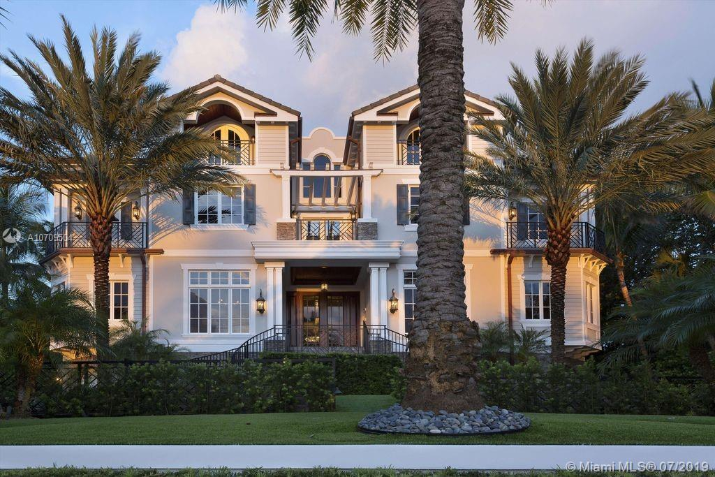 OCEAN TO INTRACOASTAL ESTATE BY EVERTON DEVELOPMENT ON THE EXCLUSIVE AND SOUGHT AFTER HILLSBORO MILE