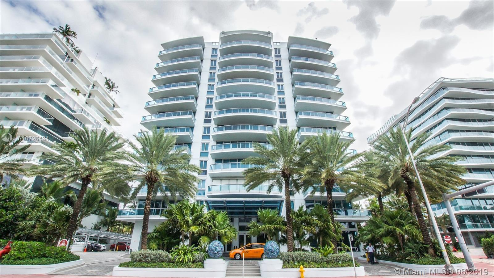 Fabulous ocean-front corner unit with wrap-around balcony. Spacious 3 bed and 3.5 bath, all marble f