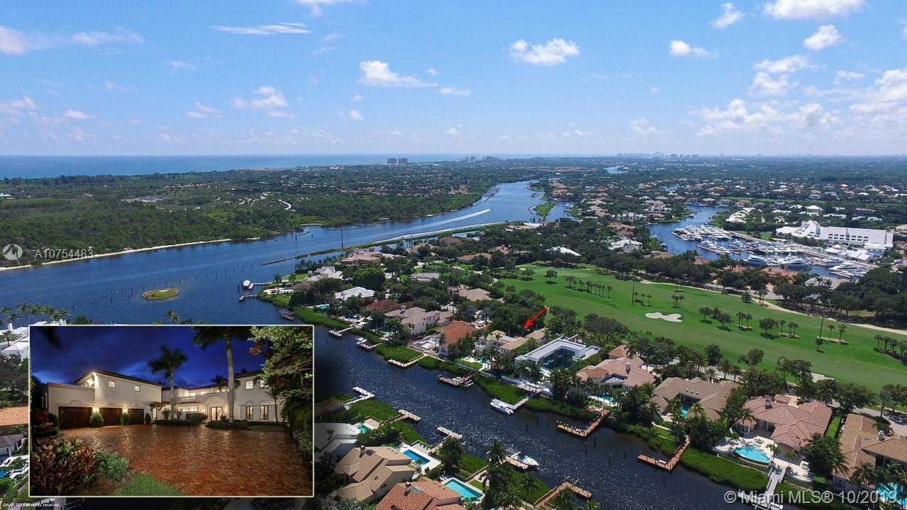 Custom waterfront estate home steps from the Intracoastal Waterway. This estate is perfectly situate