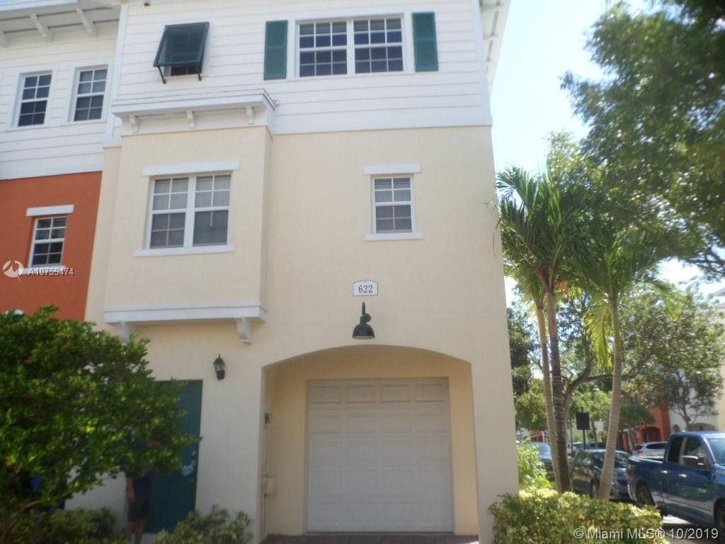Nice Three Story Townhome First Floor has Office/Den And Half Bath, Second Floor is Living Are With