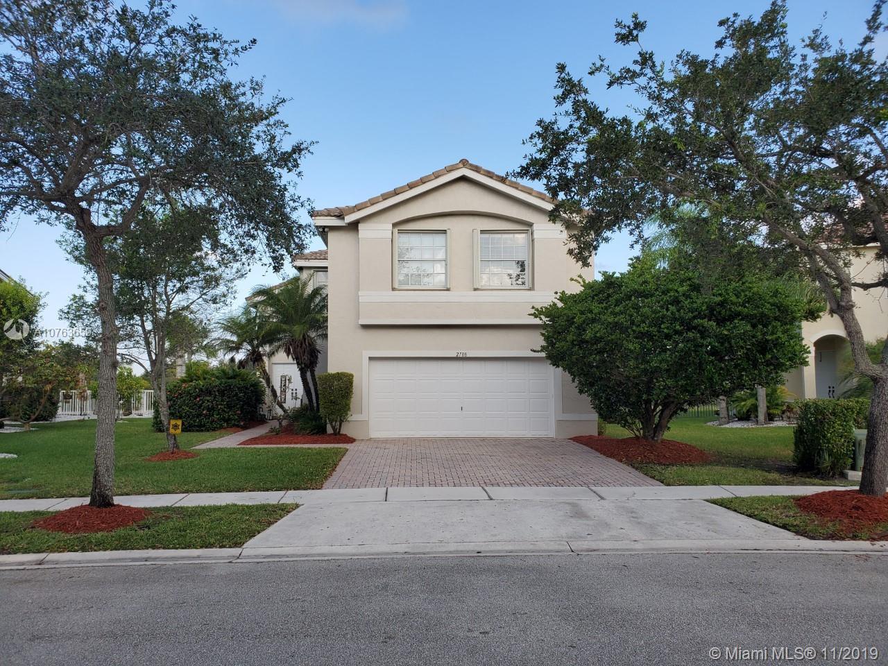2708 SW 165th Ave, Miramar, FL, 33027