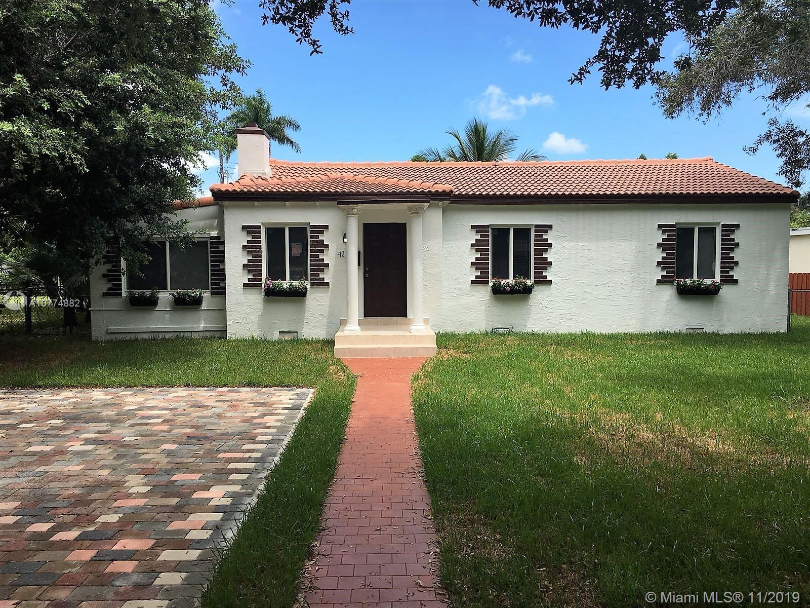 Location Location Location, much desired neighborhood close to Barry University and golf course. cha