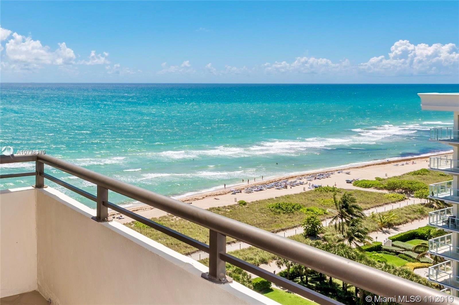 PENTHOUSE condo with unobstructed views to the ocean facing south east.Very large 1 bedroom with hug
