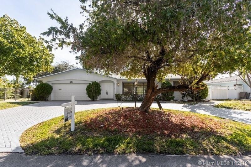 WATERFRONT UPDATED Pool Home located in Lighthouse Point.  Freshly painted interior and exterior.  N