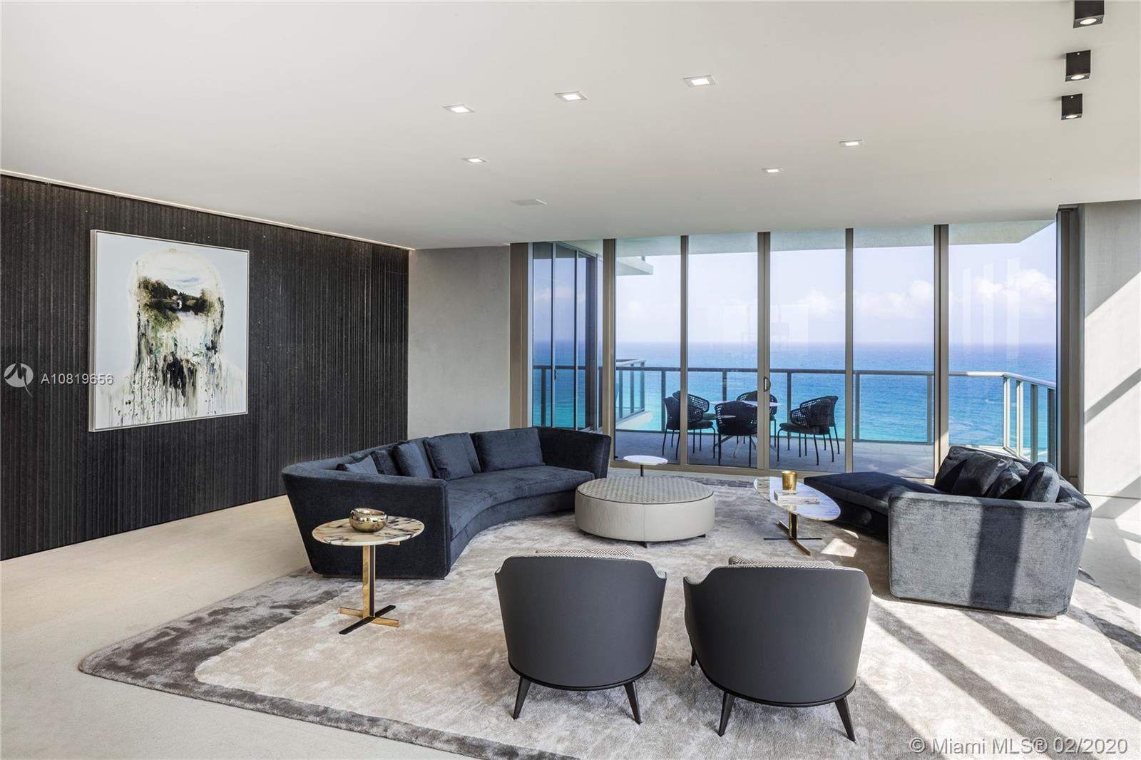 This bespoke residence at the St. Regis Bal Harbour has been custom-designed for the discerning buye