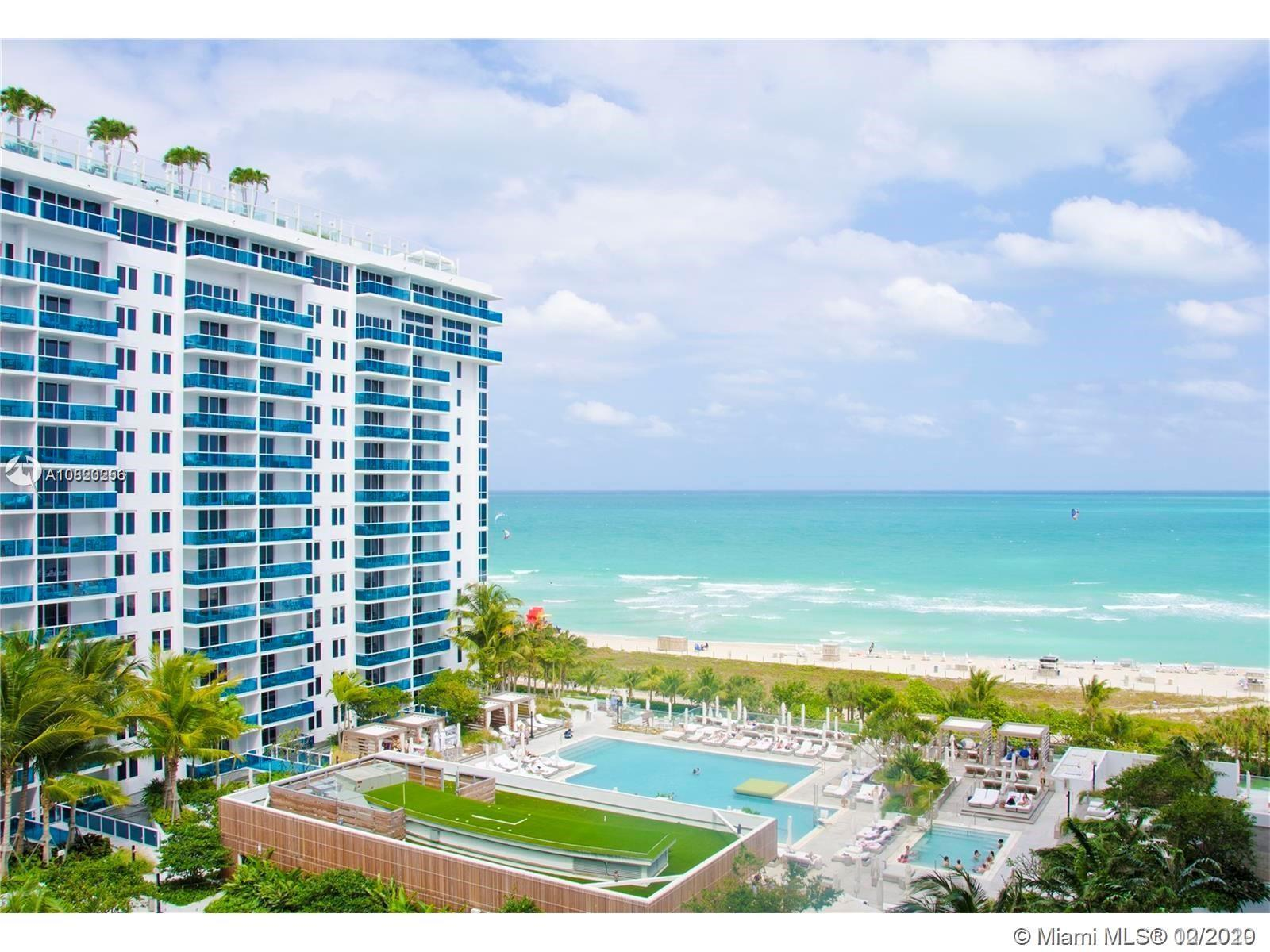 DIRECT OCEAN AND POOL VIEWS FROM THIS LARGE 1 BEDROOM LOCATED AT THE LARGEST OCEANFRONT RESORT IN SO