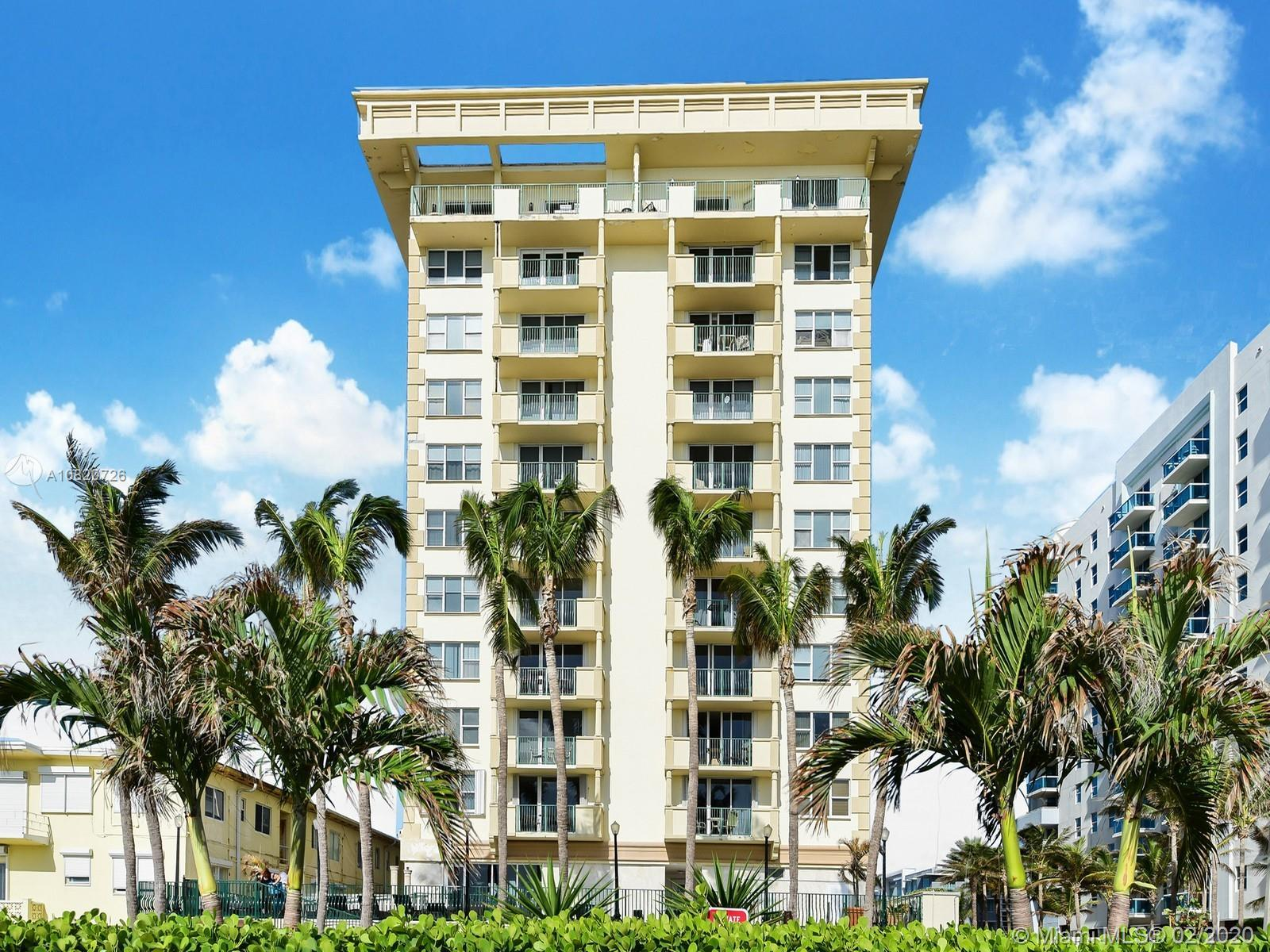 Lowest priced unit in the conveniently located Carlisle on the Ocean front building located in the t