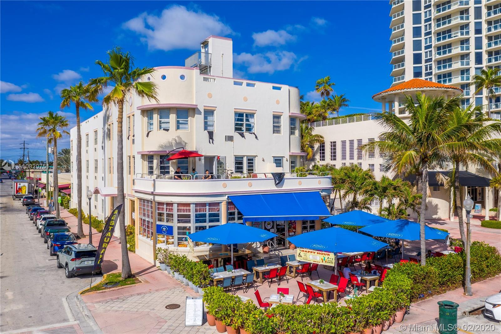 Enjoy living right next to the pristine sands of Miami Beach in this charming oceanfront studio avai