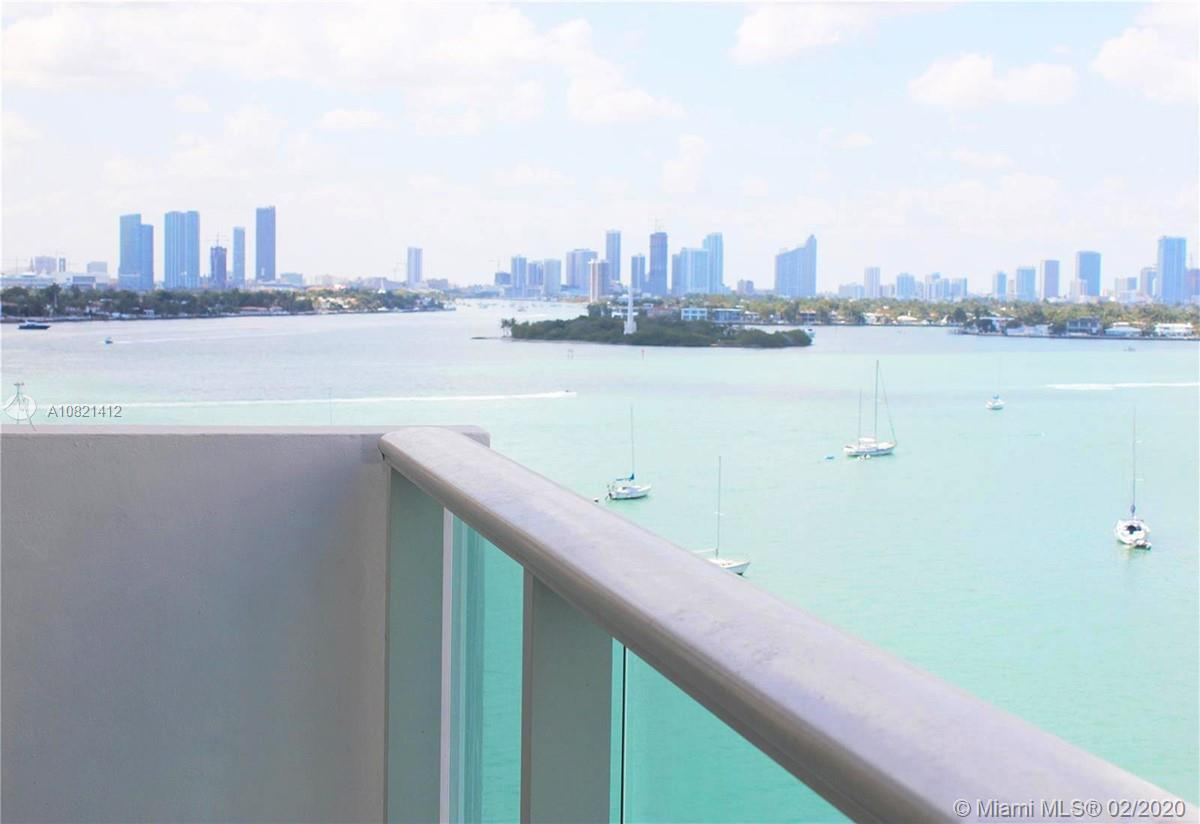 Beautiful bay views from this 9th floor studio with balcony. This unit comes with a walk-in closet a
