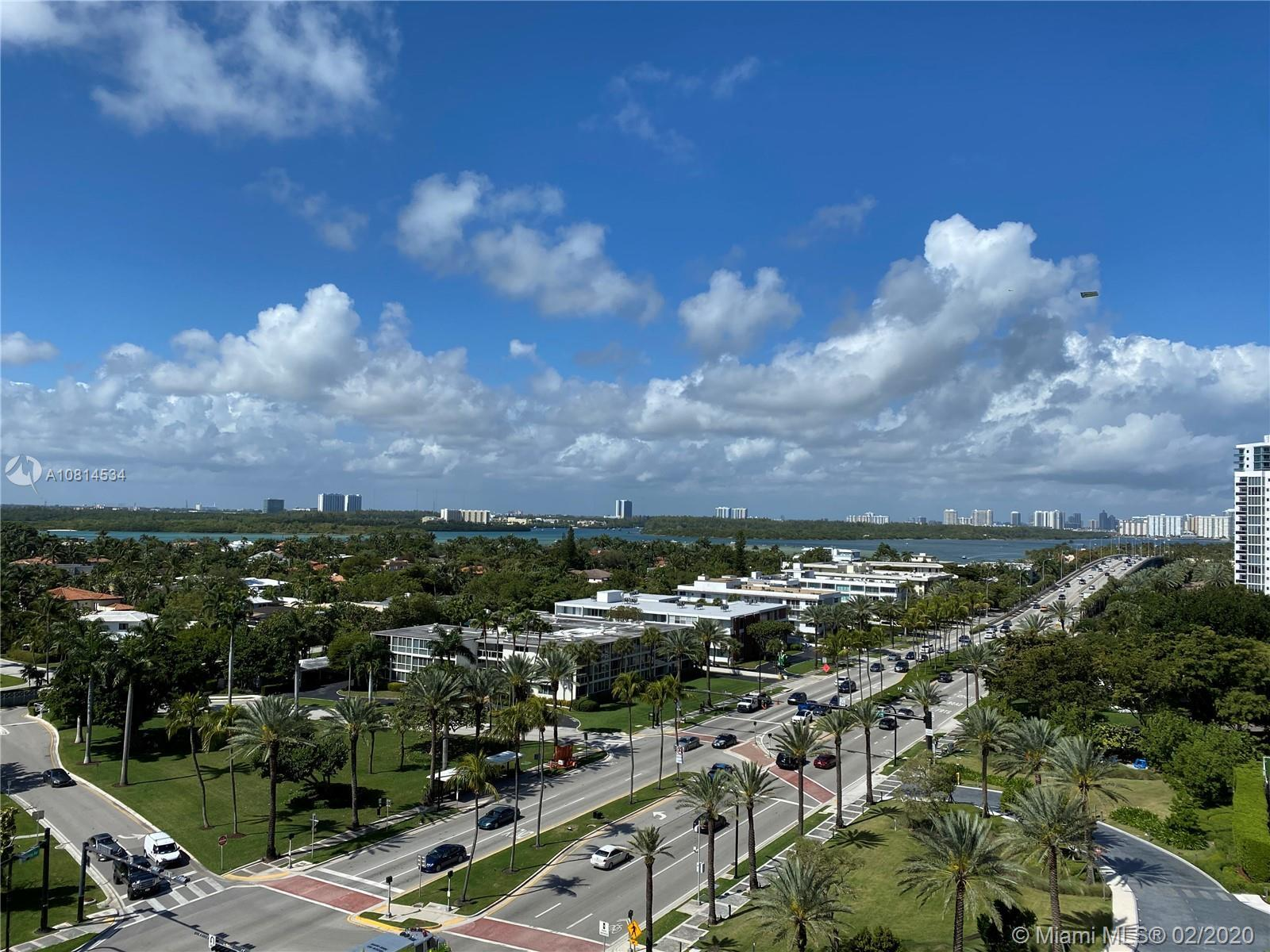 EXCLUSIVE BAL HARBOUR CONDO - GREAT VIEWS OF INTRACOASTAL AND SKYLINE! ONE BEDROOM + DEN CAN BE EASI