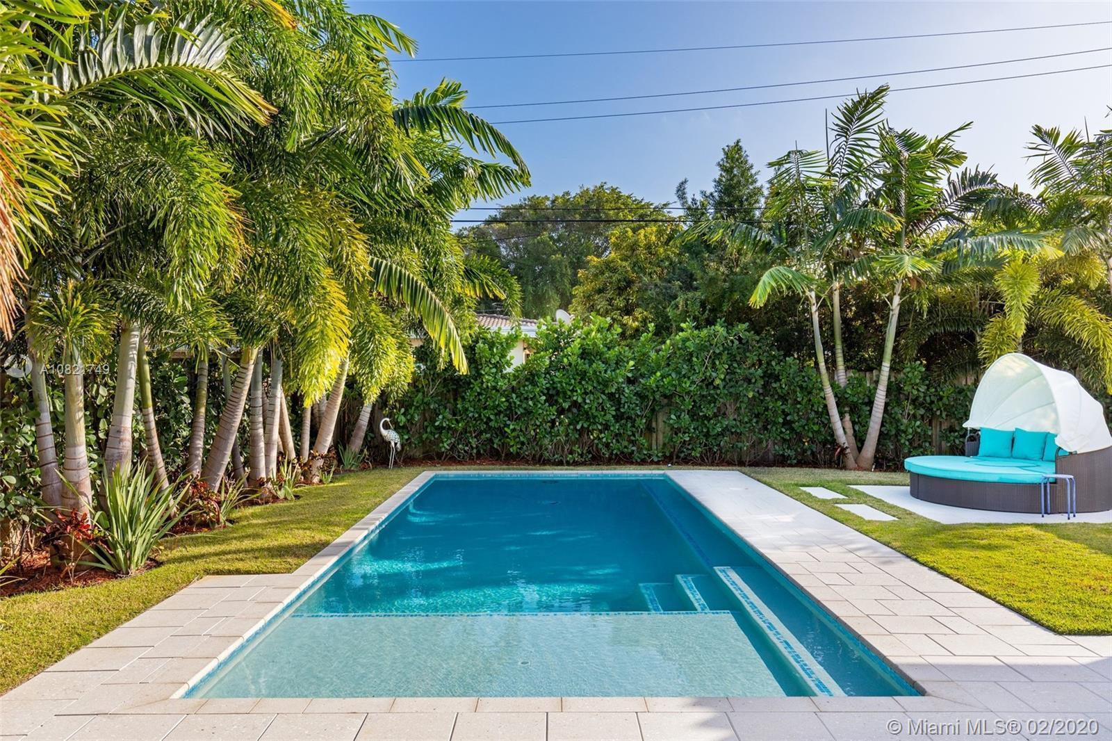 Charming 3 BD 2.5 BA family home in gated Normandy Shores on Miami Beach. Enjoy an abundance of natu