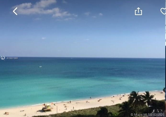 Enjoy this beautiful Ocean Front 1 Bedroom, 1.5 Bathrooms, with an additional DEN which may be used