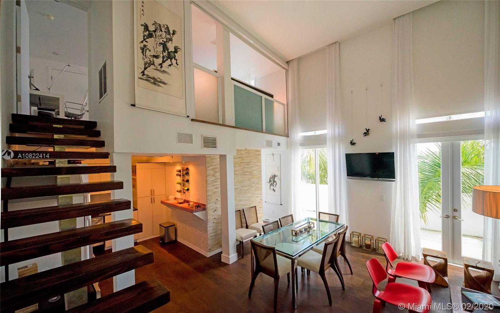 Elegant, cozy, unique loft in an exclusive 12 units private boutique building in Miami Beach. Unit h