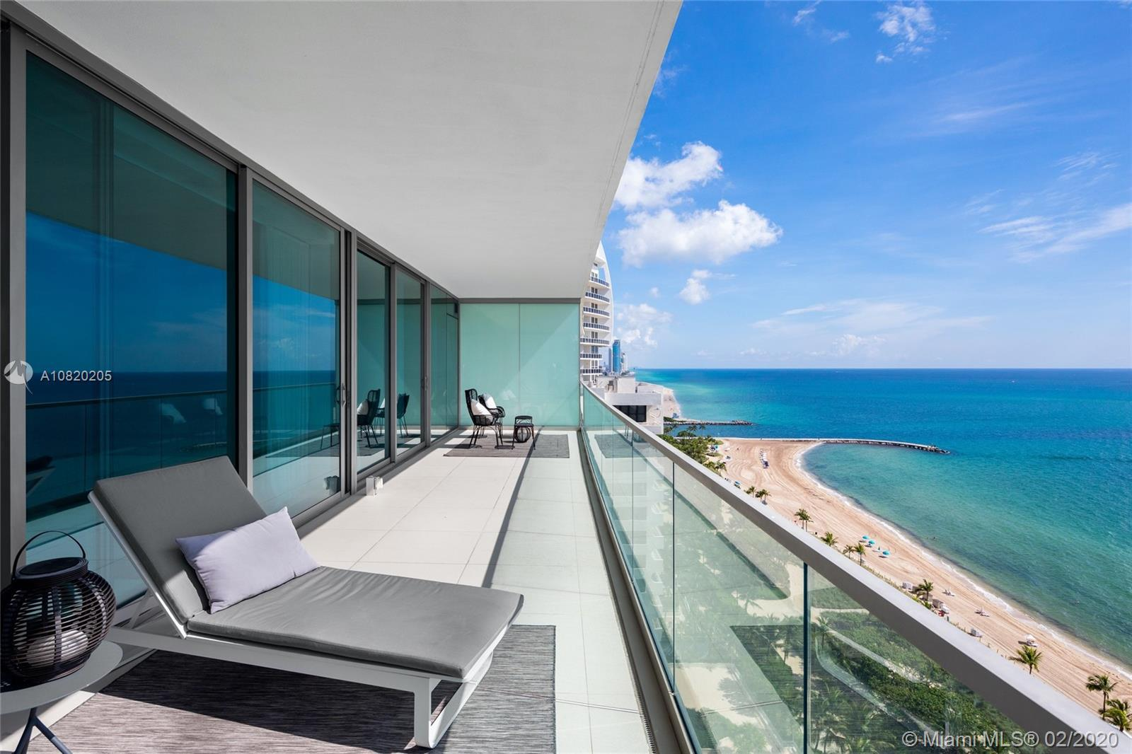 Spectacular flow-through oceanfront residence in the prestigious Oceana Bal Harbour. Fully renovated