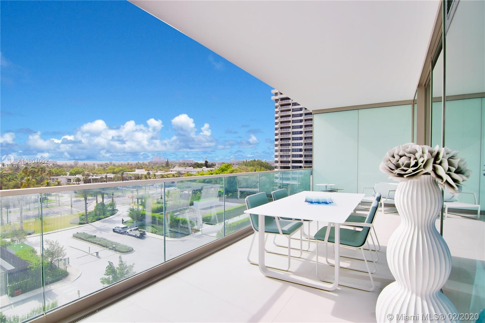 Best priced condo in the building, offered fully furnished! Located in the exclusive Oceana in Bal H