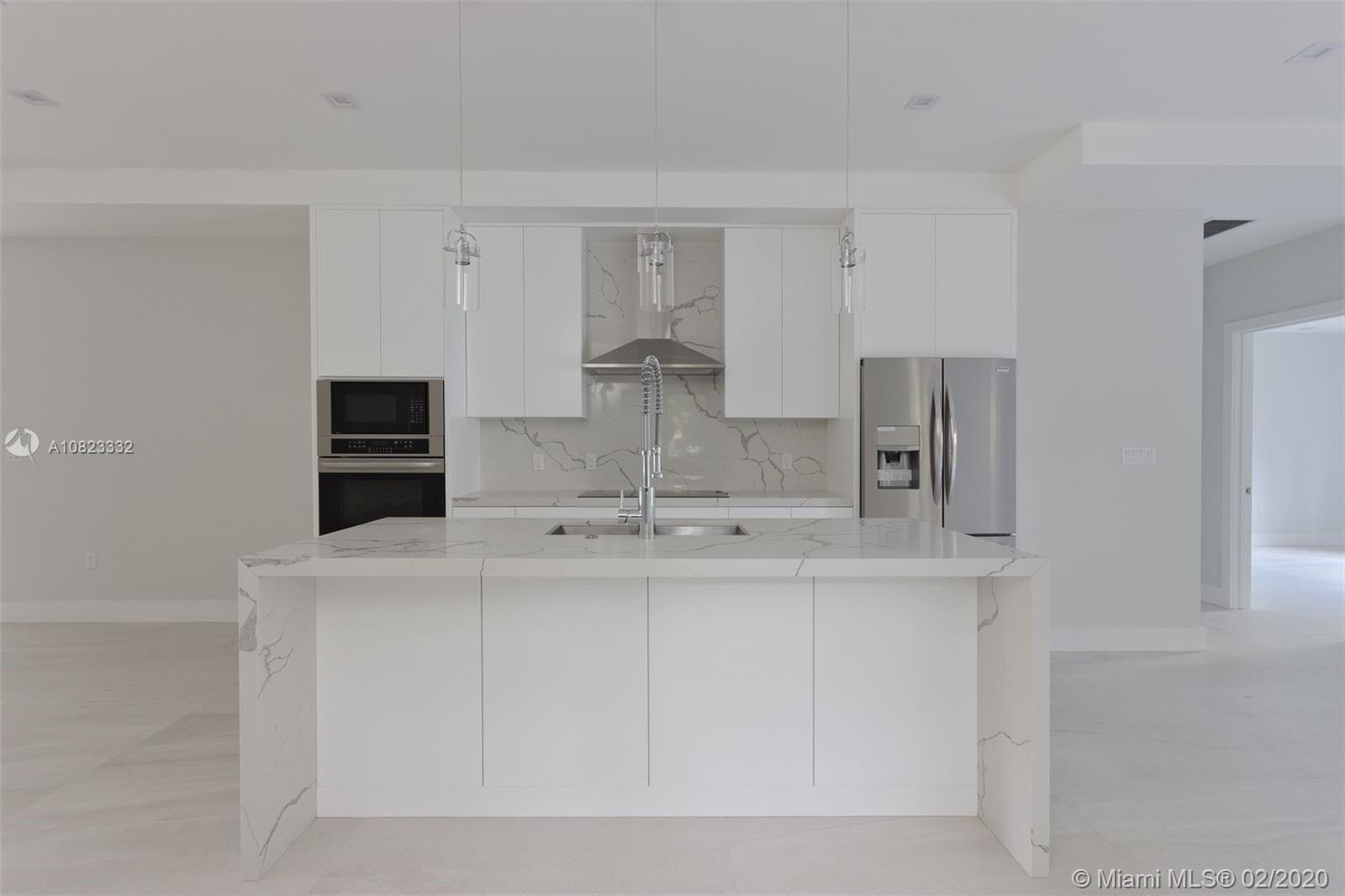 NEW CONSTRUCTION IN 2020.  3 BEDROOMS AND 2 FULL BATHS PLUS ½ BATH IN MIAMI SHORES.  EVERYTHING IS B