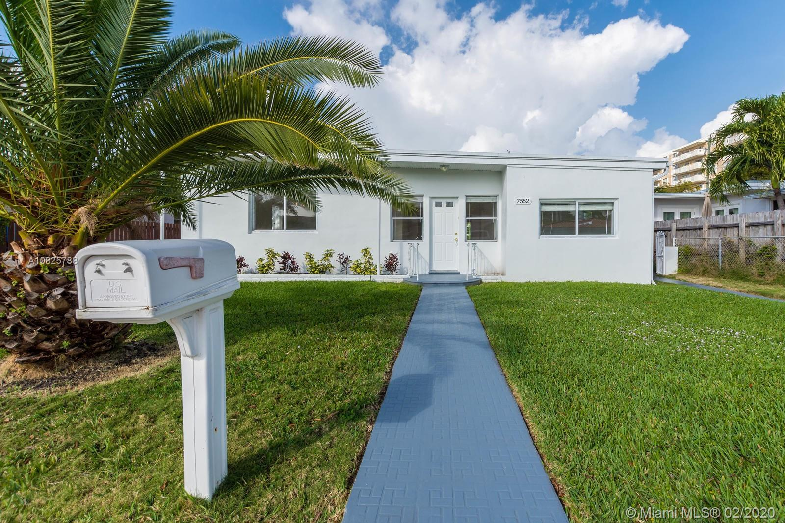 Beautiful Home in the heart of Treasure Island at North Bay Village! This home offers 4 bedrooms and